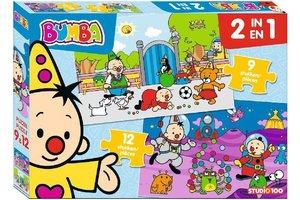 Studio 100 Bumba - Puzzel 2-in-1 (9 en 12 stuks)