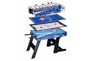 Euland 4-in-1 Game tafel opvouwbaar