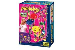 Toto Toys Knikkerbaan Marbulous (62 stuks + 16 knikkers)
