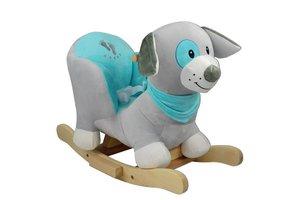 Rocking Dog grijs/blauw