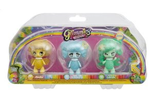 Giochi Preziosi Glimmies Rainbow Friends - 3 figuren