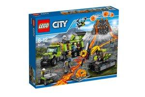 LEGO City Volcano Explorers 60124 Vulkaan onderzoeksbasis
