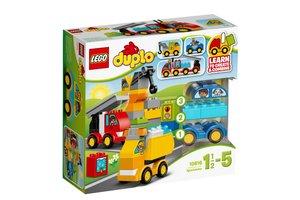 LEGO DUPLO® Creative Play 10816 Mijn eerste wagens en trucks