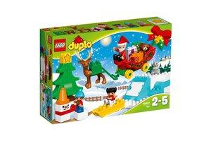 LEGO DUPLO® Town 10837 Wintervakantie van de Kerstman
