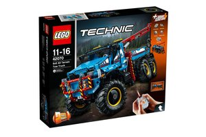 LEGO Technic 42070 6x6 allterrain-sleepwagen