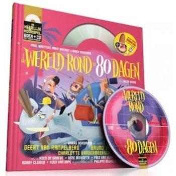 Heerlijke hoorspelen - De wereld rond in 80 dagen (boek + CD)