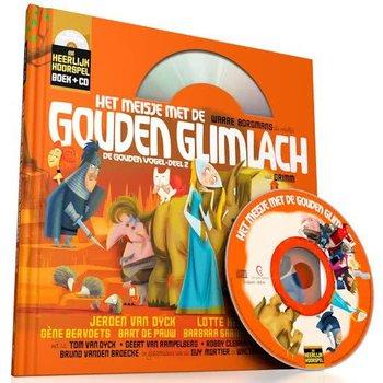 Heerlijke hoorspelen - Het meisje met de gouden glimlach (boek + CD)