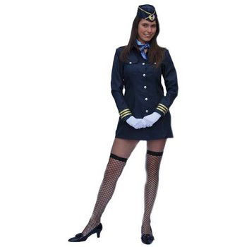 Kostuum Air Hostess
