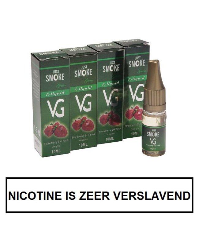 Just Smoke Green Strawberry E-liquid (95% VG)