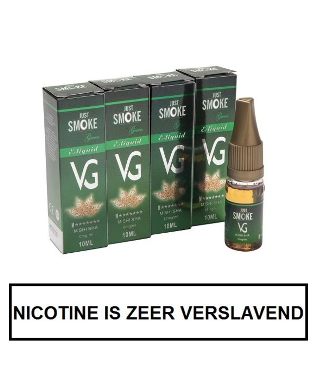 Just Smoke Green M7 Stars E-liquid (95% VG)