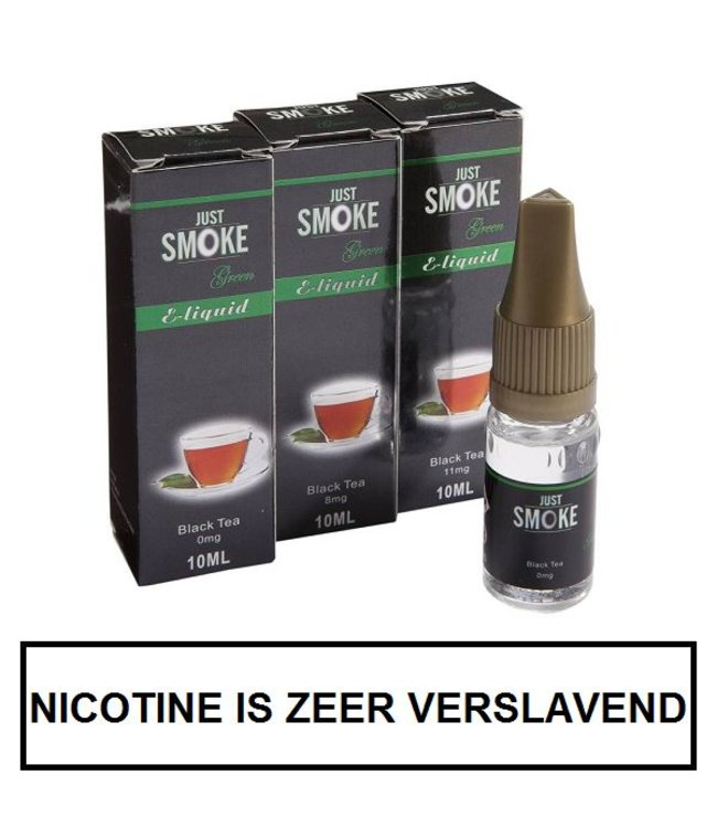 Just Smoke Green Black Tea E-liquid