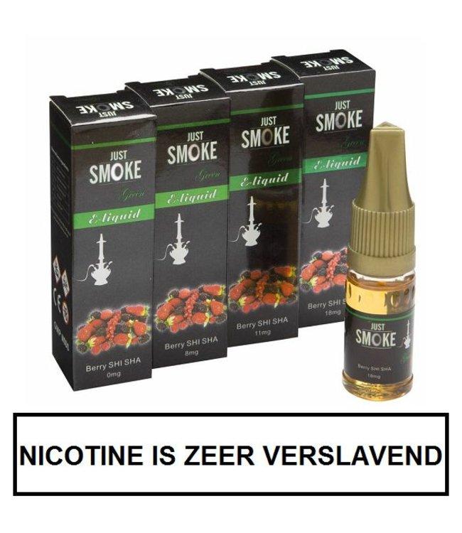 Just Smoke Green Berry Shisha E-liquid