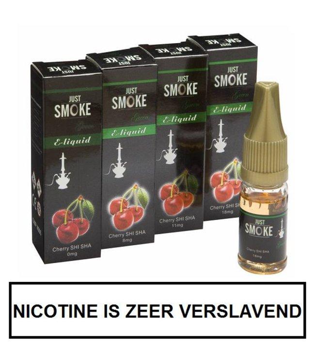 Just Smoke Green Cherry Shisha E-liquid