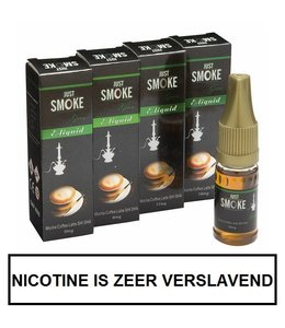 Just Smoke Green Mocha Coffee Latte Shisha E-liquid