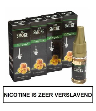 Just Smoke Green Peach Shisha E-liquid