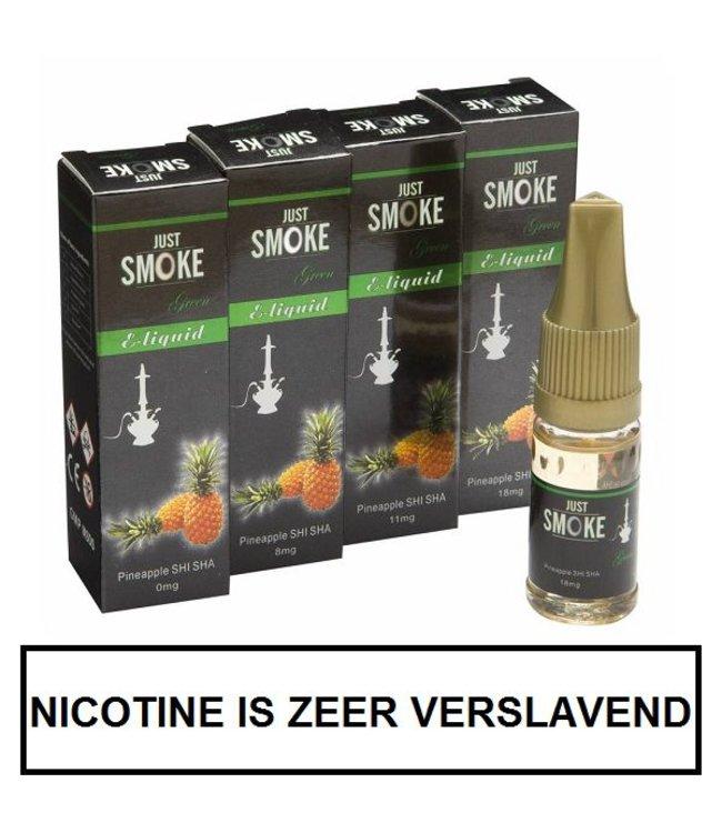 Just Smoke Green Pineapple Shisha E-liquid