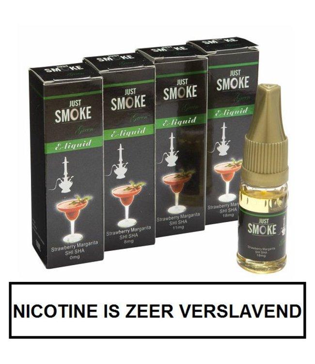 Just Smoke Green Strawberry Margarita Shisha E-liquid