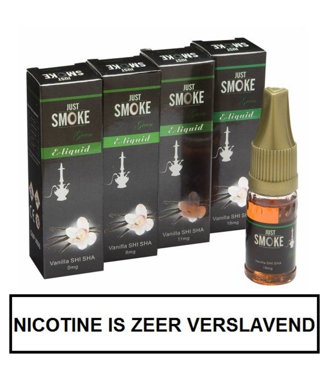 Just Smoke Green Vanilla Shisha E-liquid
