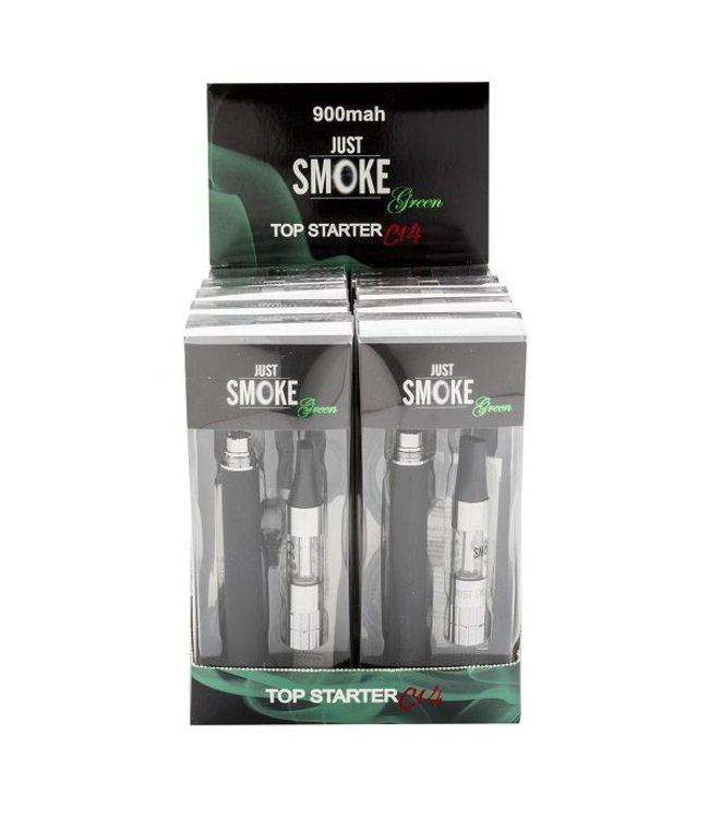 Just Smoke Green JSG C14 Top Starter 900 mAh