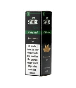 Just Smoke Green M7 Stars Light Tobacco E-liquid