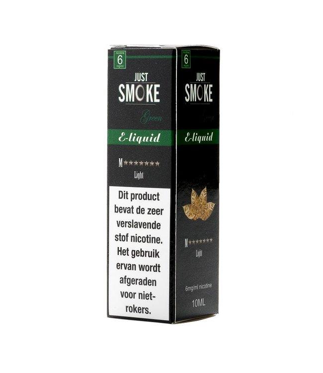 Just Smoke Green M7 Stars Light Tobacco E-liquid