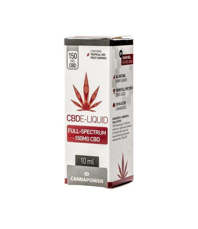 Cannapower Cannapower CBD E-Liquid Tropical Fruit