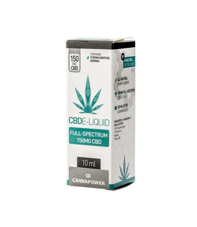 Cannapower CBD E-Liquid Sweet Menthol