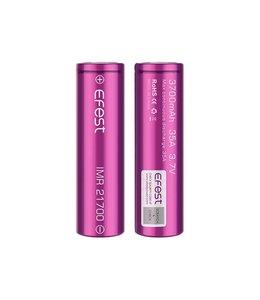 Efest Efest IMR 21700 Batterij (3700mAh) 35A (1-PACK) (VERWACHT)