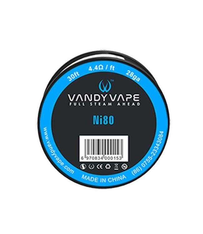 Vandyvape Vandyvape Resistance Wire Nikkel Ni80