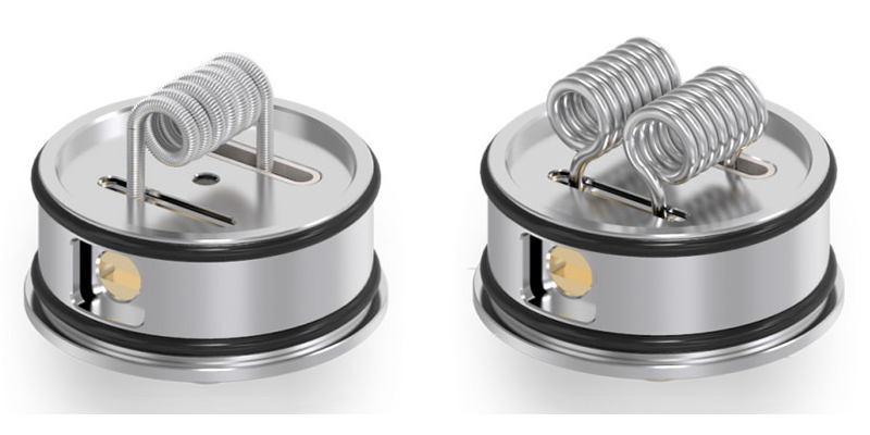 Vandyvape Mesh RDA Single en Dual Coil Build