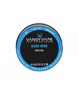 Vandyvape Vandyvape Wire Mesh Stainless Steel 316L