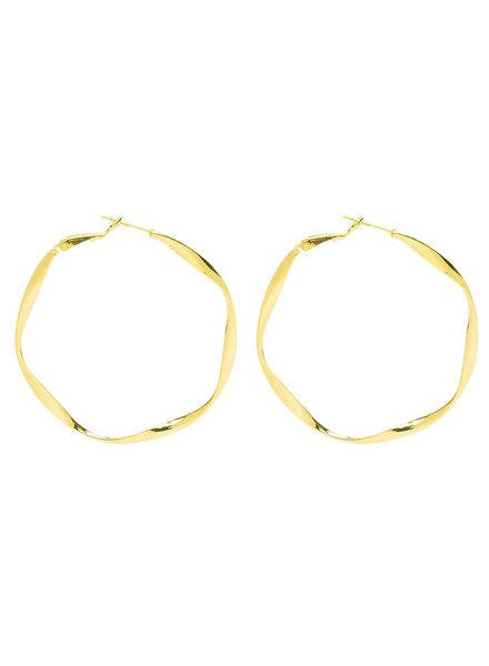 CRAFTED HOOPS - GOLD