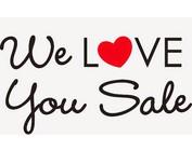 We Love Sale!