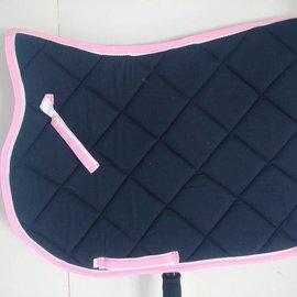 Ascot's Finest Zwart met roze en wit dekje - Full
