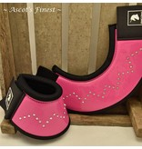 Ascot's Finest Jumping boots - Hot pink with rhinestones - Size M - XXL