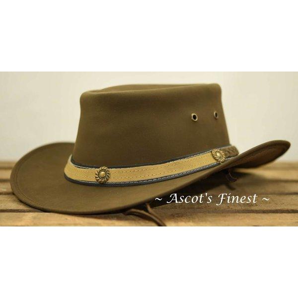 Nubuck lederen hoed
