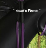 Ascot's Finest Purple bridle - Pony, Cob and Full