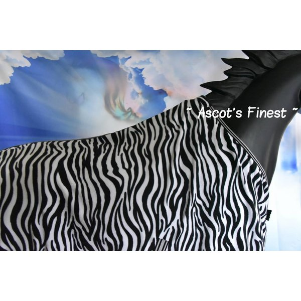 Zebra fleece deken - 195 cm
