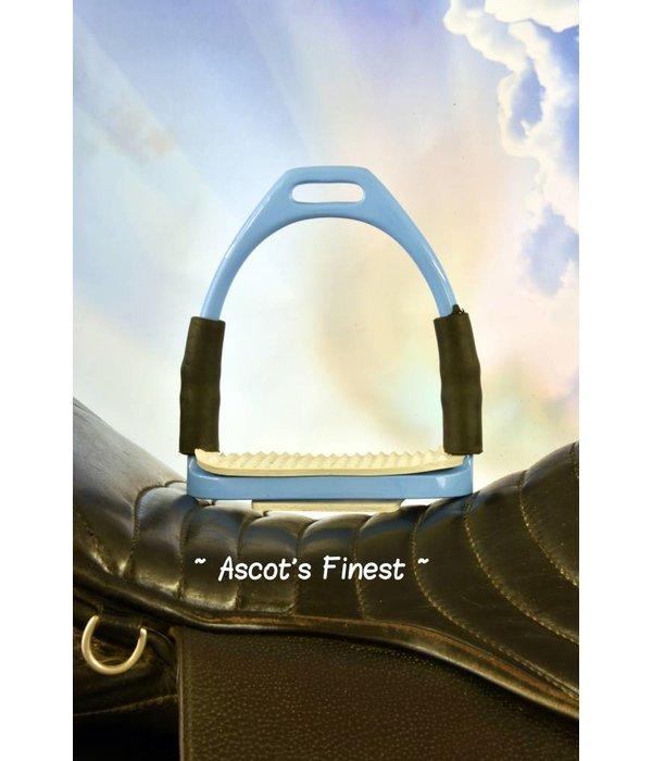 Ascot's Finest Lichtblauwe veiligheidsstijgbeugels