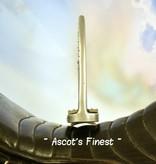 Ascot's Finest Zilverkleurige strass stijgbeugels