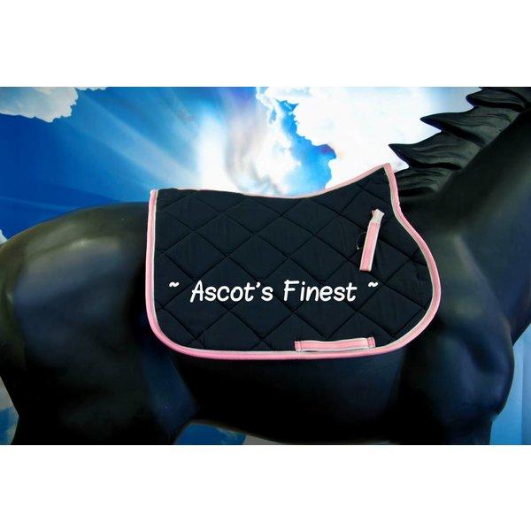 Zalm roze dekje - maat Pony