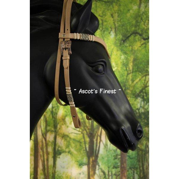 Western Hoofdstel - Met V-frontriem - Full, Cob en Pony