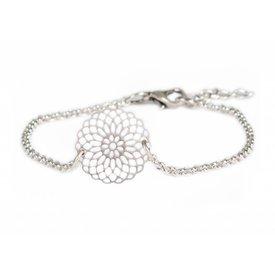 Je t'aime Jewels Filigraan Bracelet - Silver