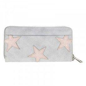 Stars Wallet - Lightgrey