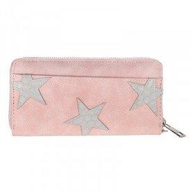 Stars Wallet - Pink