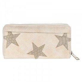 Stars Wallet - Beige