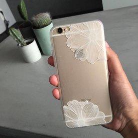 Telefoonhoesje Flower I White - iPhone