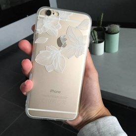 Telefoonhoesje Flower II White - iPhone
