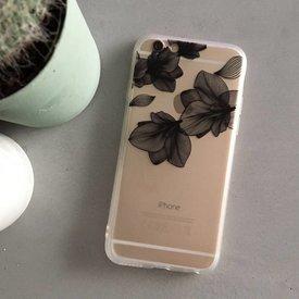Telefoonhoesje Flower II Black - iPhone