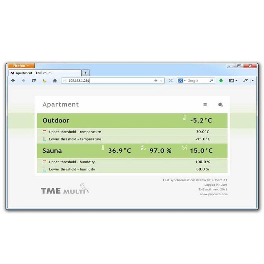 TME multi: Temperature and humidity via Ethernet-4